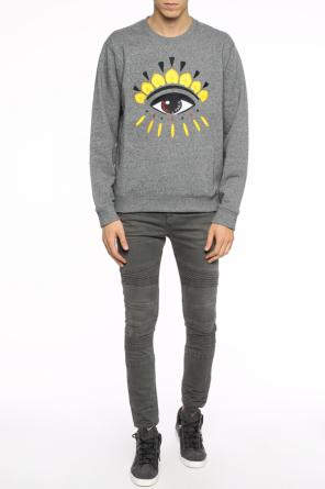 Eye motif-embroidered sweatshirt od Kenzo